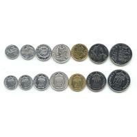 Сан Марино Набор 7 монет 1973