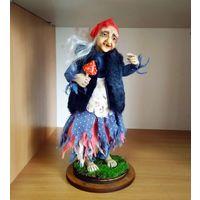 Авторская интерьерная кукла ''Баба Яга''