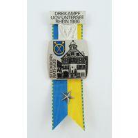 Швейцария, Памятная медаль 1986 год .