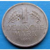 ФРГ 1 марка 1993 J