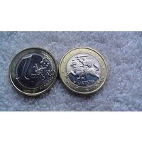Литва 1 евро 2015г. распродажа