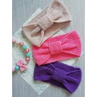 Яркие повязки для девочек 4-6лет