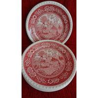 """Набор 6 тарелок для второго из серии """"Рустикана"""" , Villeroy & Boch, Германия"""
