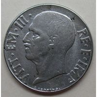 Италия 20 чентезимо 1943 год