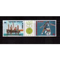 Бенин-1985(Мих.401-402)  **  , Спорт, футбол