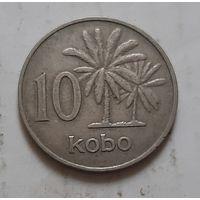 10 кобо 1973 г. Нигерия