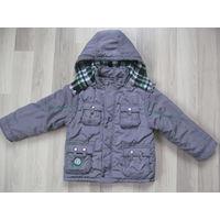 Куртка деми на р.110-116-122см