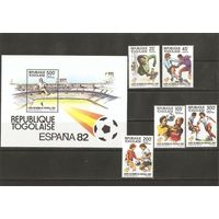 Того 1982 Чемпионат мира по футболу