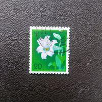 Япония 1982 год Цветы