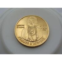 Бассас-да-Индия остров  100 ФРАНКОВ 2012 год  UNC
