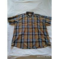 Мужская рубашка немецкой фирмы CAMEL ACTIVE.Короткий рукав.Размер 6XL .