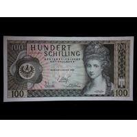 Австрия. 100 шиллингов 1969 г. UNC