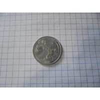 """Монета квотер """" Нац.парки США"""" Северная Каролина"""