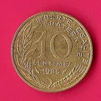 40-05 Франция, 10 сантимов 1995 г.