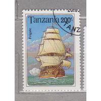 Парусник флот Танзания 1994 г лот 1