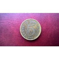 Шри-Ланка 5 рупий, 2006г. (а-7)