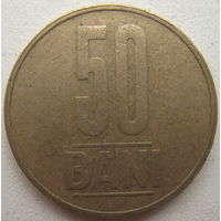 Румыния 50 бани 2006 г. (g)