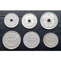 Монеты Монголии. Комплект 1959г.