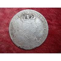 6 крейцеров прусия 1755 год