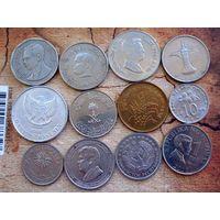 Азия. 10 монет - 10 разных стран.