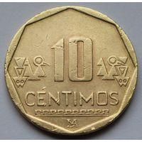 Перу, 10 сентимо 2003 г.