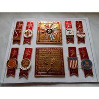 Значки Чемпионат мира по хоккею 1979 Москва