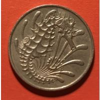 Сингапур 10 центов 1967