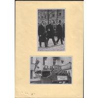 """Германия 3-й Рейх, карточка из альбома """"Deutschland erwacht Werden, Kampf und Sieg der NSDAP"""" (17)"""