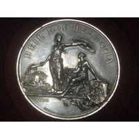Медаль стрелкового фестиваля Швейцария ( серебро)