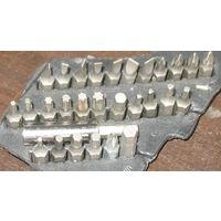 Набор бит (28 шт. - ассорти) с магнитным держателем