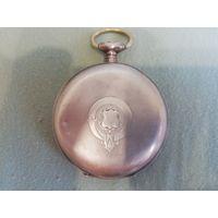 Часы карманные старинные серебро 84(875) Георг Фавр Жако Локль 23 камня  с 1 рубля всего 3 дня!