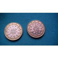 Португалия 1 евро 2004г.   распродажа