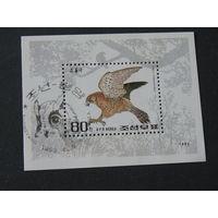 Корея 1992 год Фауна, блок.