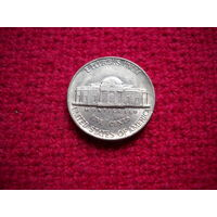 США 5 центов 1982 г. (D)