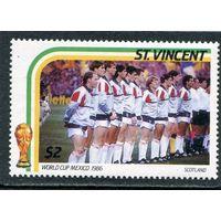 Сент-Винсент. Чемпионат мира по футболу. Мексика. Сборная Шотландии