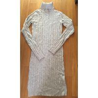 Платье вязанное серое Baon XS