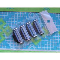 Лезвия (кассеты) для бритвы Gillette Mach. Цена за упаковку из 4-х кассет для бритвы Джиллет Мак-3.