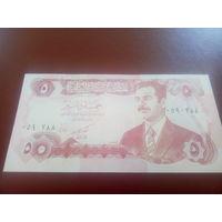 Ирак 5 динаров1992г. Садам Хусейн.