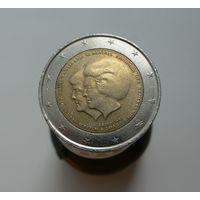 2 евро 2013 Нидерланды Коронация Короля Виллема-Александра
