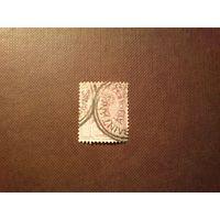 Британская Ямайка 1889 г. Королева Виктория .