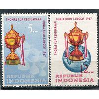Индонезия. Чемпионат мира по бадминтону. Джакарта 1967