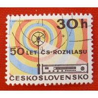 Чехословакия. ( 1 марка ).