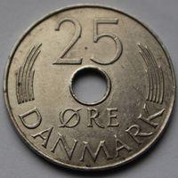 Дания, 25 эре 1980 г