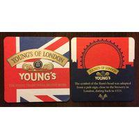 Подставка под пиво Young's No 5