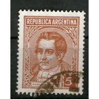 Аргентина. Гашеная. Лот-16