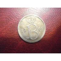25 сантим 1969 года Бельгия (Ё)