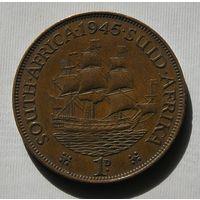 Брит. Южная Африка 1 Пенни 1945 GEORIUS VI (D)