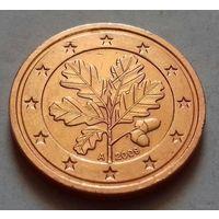 2 евроцента, Германия 2009 A, AU