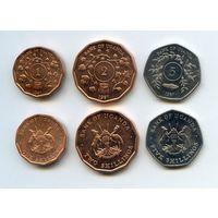 Уганда НАБОР 3 монеты