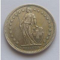 Швейцария, 2 франка 1961 год